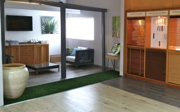 ideco_showroom_pergolas-blinds manufacturer and retailer of blinds and floorings