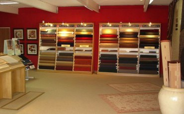ideco_showroom_carpet manufacturer and retailer of blinds and floorings